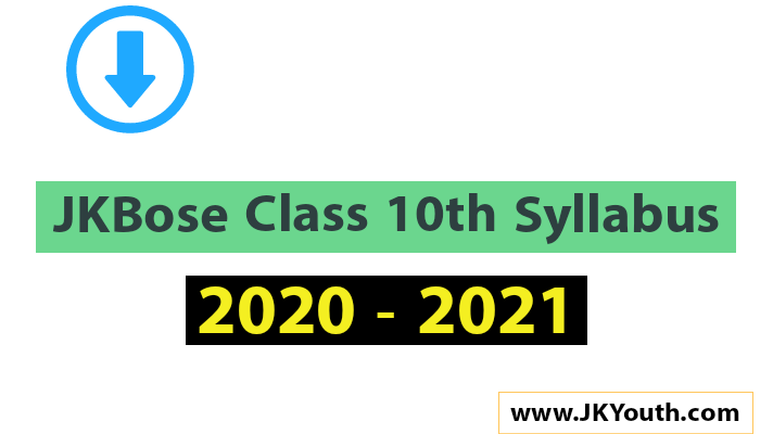 JKBose Class 10th Syllabus