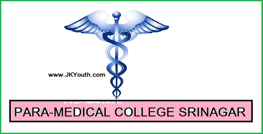 ParaMedical Courses in Srinagar, AMT School Srinagar, GMC Srinagar Nursing,