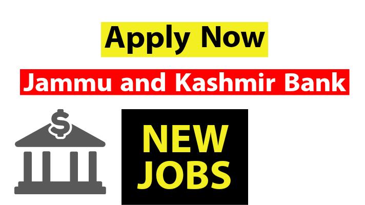 JK Bank Vacancies