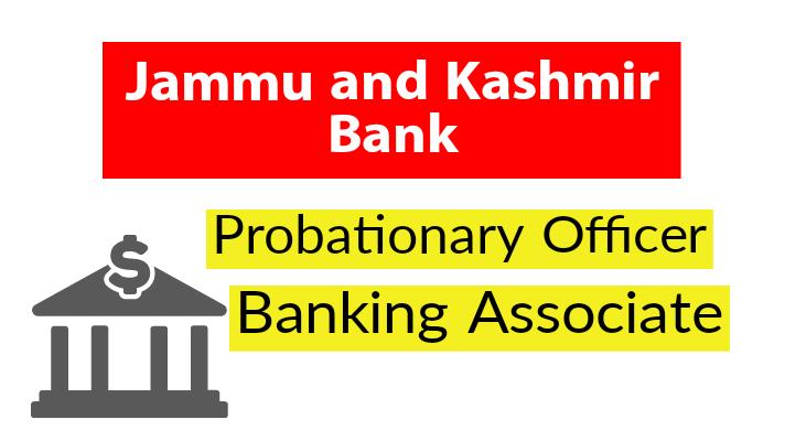 Probationary Officer, Banking Associate
