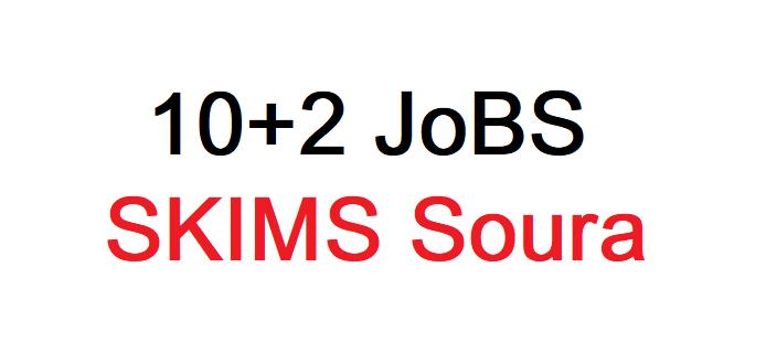 10+2 Jobs, SKIMS