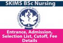 BSc Nursing, Technology SKIMS
