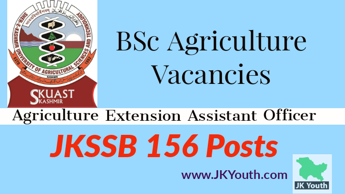 B.Sc. Agriculture Fresh Vacancies