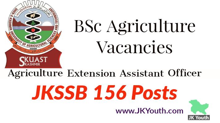 B.Sc. Agriculture Fresh Vacancies