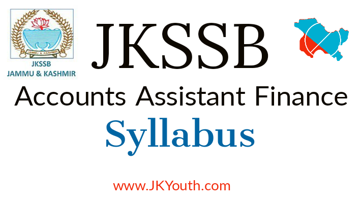 Accounts Assistant Finance Syllabus