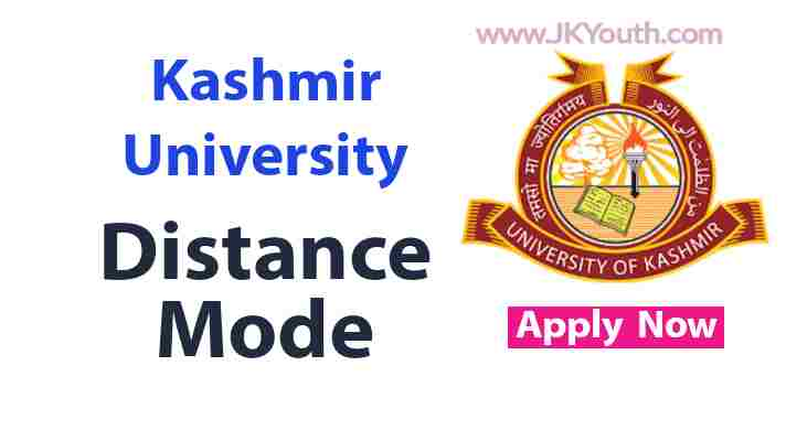 Kashmir University Distance Mode