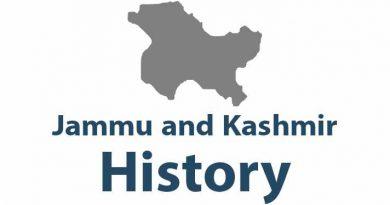 History of Jammu and Kashmir