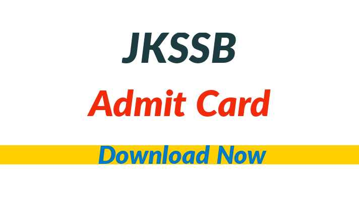 JKSSB Election Assistant Admit Card
