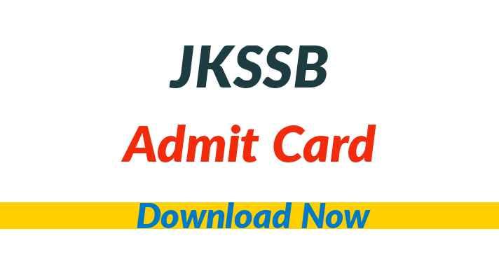 JKSSB Staff Nurse Admit Card