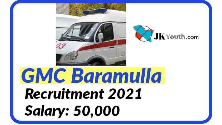 GMC Baramulla Recruitment