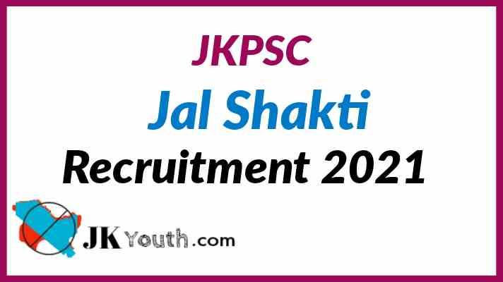 JKPSC Jal Shakti Recruitment