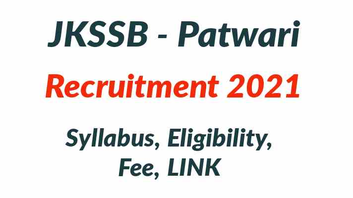 JKSSB Patwari Recruitment