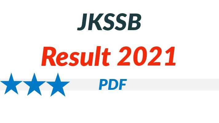 jkssb depot assistant result