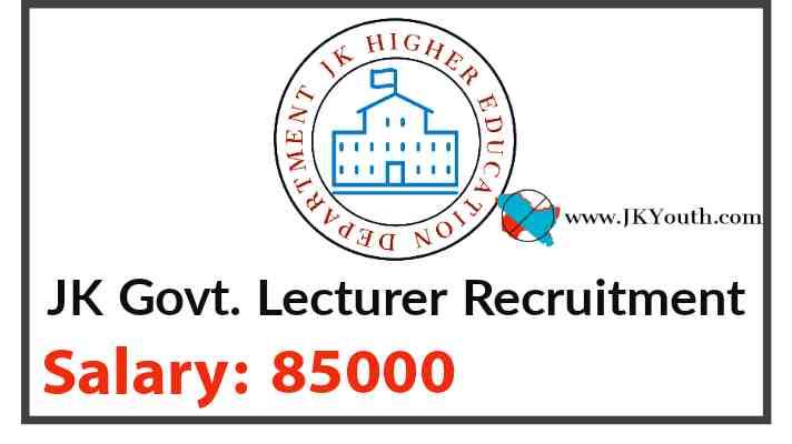 JK Lecturer recruitment