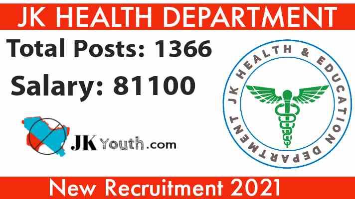 JK Health Department Recruitment