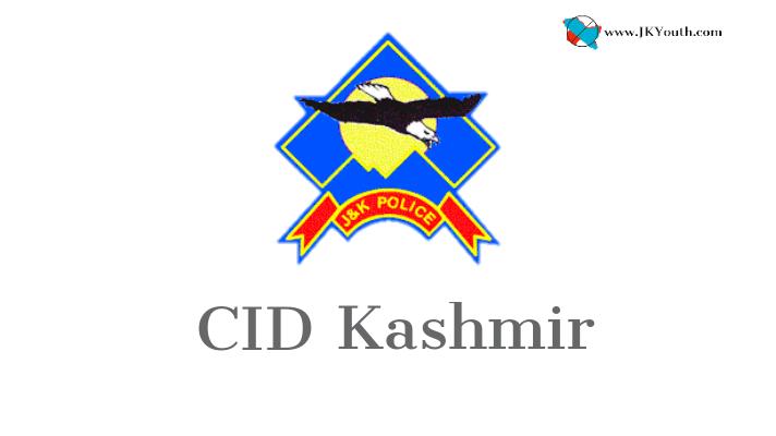 CID Kashmir