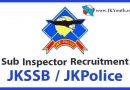 JKPolice Sub Inspector recruitment