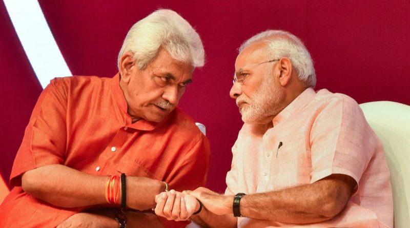 Manoj_Sinha_Narendra_Modi