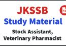 JKSSB Study Material