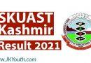Skuast Kashmir Result